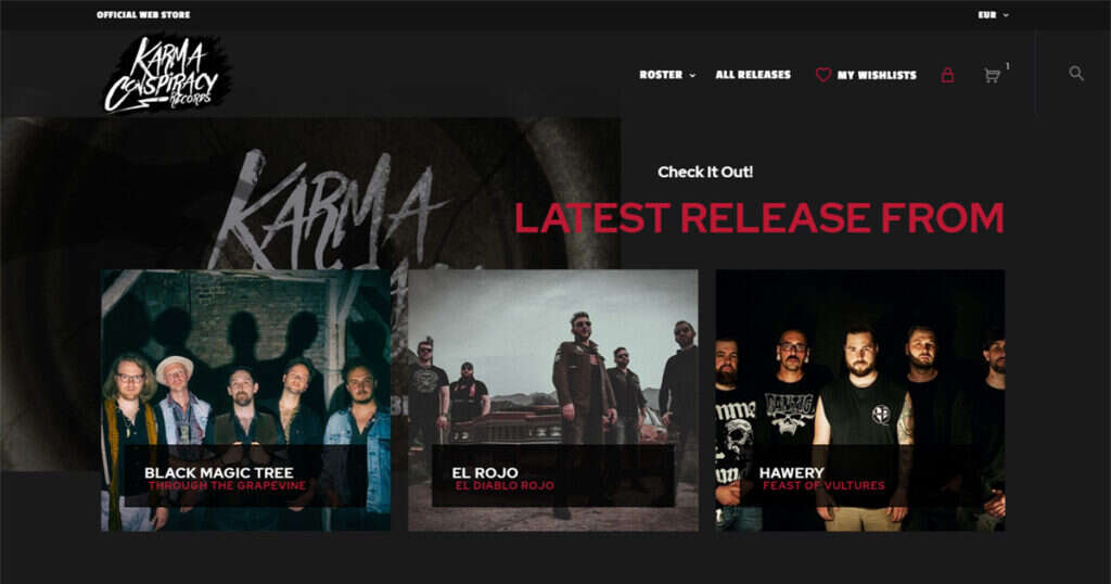 Karma Conspiracy Official Webstore is Online